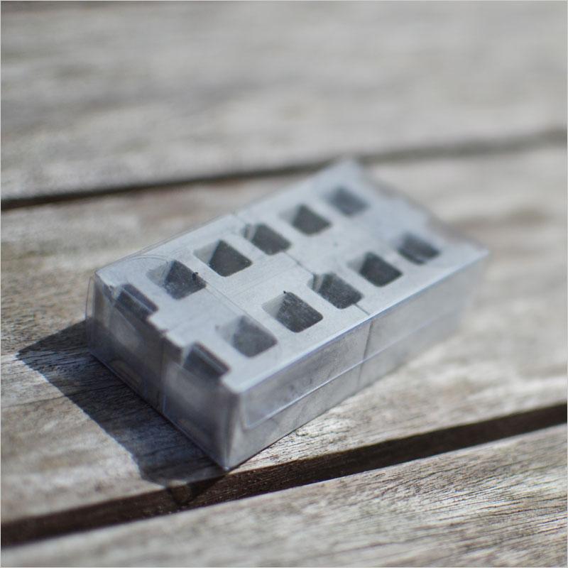 コンクリートブロック マグネット 4個セット マグネット セメント ブロック ステーショナリー キッチンマグネット 磁石 文房具 雑貨 文具 ユニーク デザイン