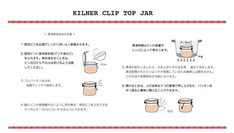 KILNER キルナージャー ガラスジャー 保存容器