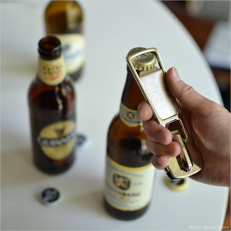 チャックボトルオープナー 栓抜き 磁石 チャック型 マグネット キッチン雑貨 バー パーティー ビール ファスナー ボトル ユニーク zip it open bottle opener ジッパー