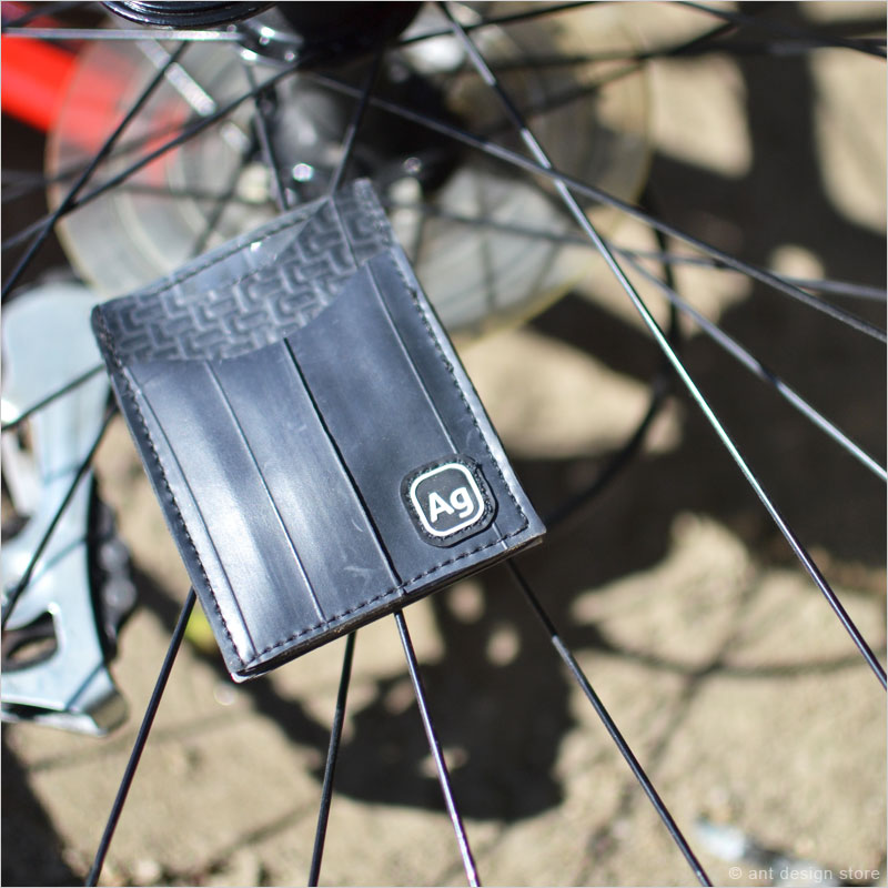 アルケミーグッズ リサイクルチューブ ナイトアウトウォレット 財布 カードケース アルケミーグッズ フランクリンウォレット 財布 タイヤ 再利用 Alchemy Goods 自転車 リサイクル