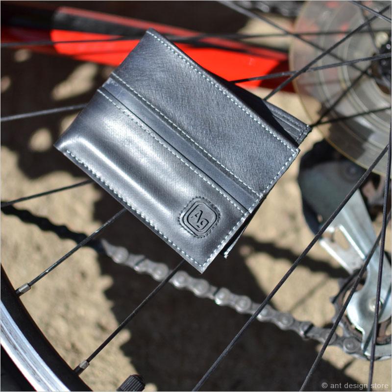 アルケミーグッズ フランクリンウォレット 財布 アルケミーグッズ フランクリンウォレット 財布 タイヤ 再利用 Alchemy Goods 自転車 リサイクル チェーン チューブ 財布
