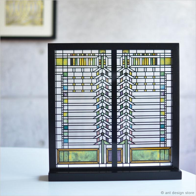 ステンドグラス ガラス工芸 フランクロイドライト Frank Lloyd Wright インテリア 装飾 建築