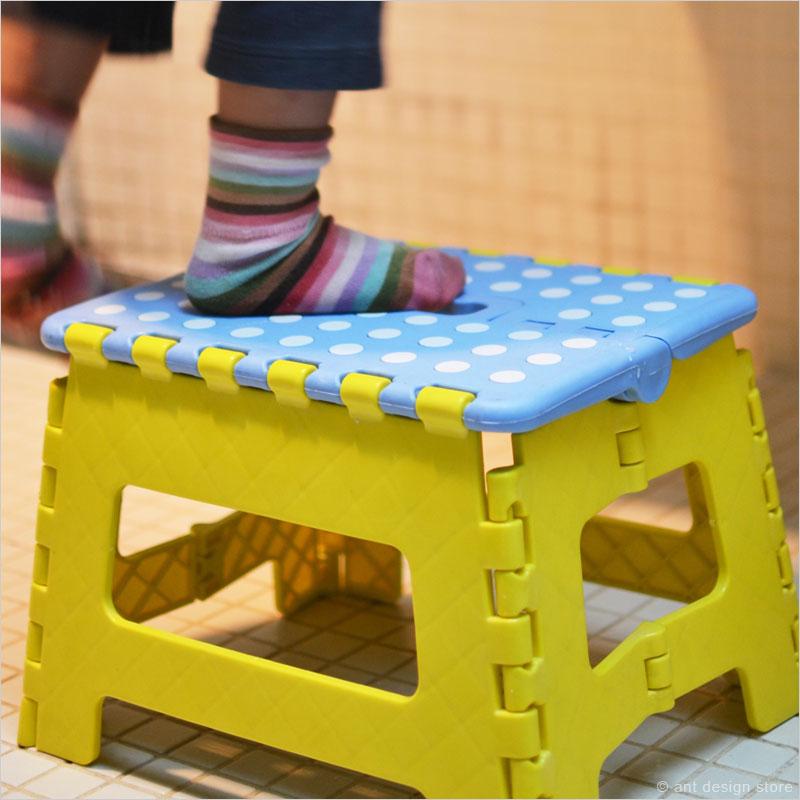 クラフタースツール (折り畳み式踏み台) Lサイズ 【スツール Crafter Stool 椅子 イス 折りたたみ式踏み台 ふみ台 脚立 ステップ 子ども用】