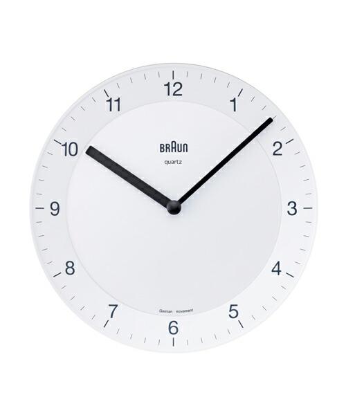 ブラウン BNC006 BNC006YGYG-NRC グレー 掛け時計 BRAUN Wall Clock 壁掛け時計 時計 ウォールクロック モダン デザイン デザイナーズ MoMA ドイツ ヨーロピアン