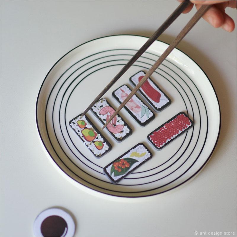寿司付箋 maki/nigiri 付箋 すし スシ 雑貨 文房具 巻き寿司 にぎり寿司 しおり 文房具 ステーショナリー 文具 オフィス 筆記用具 デスクアクセサリー