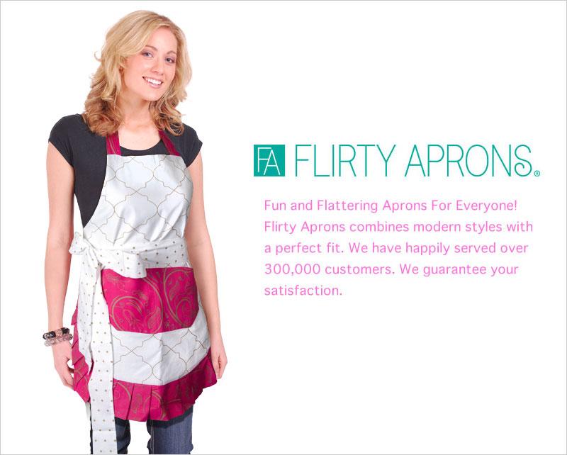 フラーティ・エプロンズ エプロン Flirty Aprons ビンテージ レトロ エプロン セレブ キッチン雑貨 クッキング 料理