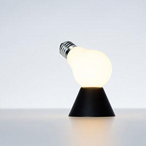 100% Lamp/Lamp テーブルベース 【ランプランプ 坪井浩尚 100% ヒャクパーセント Tsuboi Hironao 電球 照明 デザイン ギフト】