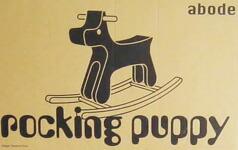 abode ロッキングパピー (木馬) 【アボード Rocking Puppy Tsuru Takafumi 津留 敬文 おもちゃ 子供 出産祝 インテリア】