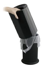 ideaco TUBELOR ゴミ箱 【イデアコ チューブラー 雑貨 インテリア 収納 トラッシュボックス トラッシュカン ごみ箱】