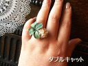 ♪-free ring 2002P13Dec13_m which four-leaf clover and the white Dutch which I held around have a cute