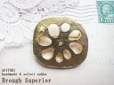 Slices of Lotus root and Lotus brooch 11510P30May15