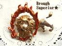 Lion's outlaw lion brooch / fire brooch 115