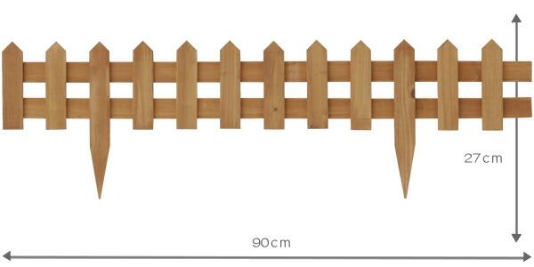 木制围栏效果图