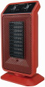 [Doshisha] pieria Pieria personal ceramic heater [Red], [DCH-1305], 1200 W compact, high power tilt functions with