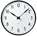 43643 Arne Jacobsen( アルネ Jacobsen) Wall Clock station clock (29cm) wall clocks (wall clock)