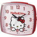 Rhythm clock Hello Kitty hello kitty R25 bleep alarm clock red 4REA25RH01
