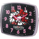 Rhythm clock Hello Kitty hello kitty R25 4REA25RH13