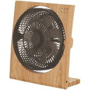 [Doshisha] Pieria (Pieria) 19 cm DC box fan natural wood wind 4 stage switching aroma Dim function with FBQ-191D power