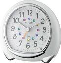 """(Citizen / rhythm Watch) CITIZEN quartz alarm clock """"Abisko"""" [White] and [8RE653-003]"""