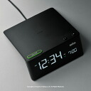 BRAUN Brown alarm clock clock BNC016BK digital