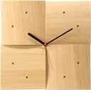 cosine (cosine) clock (oak wood ) wooden clock CW-06CN