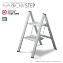 Good design award-winning narrow step SJ-5BA aluminum lightweight and Compact stylish folding (collapsible) ふみ台 2-stage fs3gm