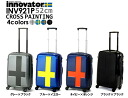 "Innovator innovator hard carry bag (suitcase) 52 cm INV921P? s 2011 new""zipper-type carrying case TSA lock overseas travel fs3gm."