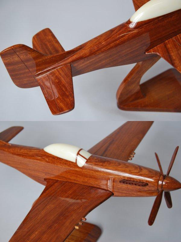 大手工制作木制模型飞机