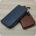 ★ points 10 times CI-VA Chiba Nume leather L-shaped zipper wallet