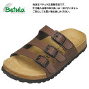 Betula by Birkenstock UGI dark brown vircoflow clock / comfort Sandals Betula By Birkenstock Woogie Dark Brown Birko Flor