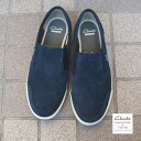 Clarks Torbay Slip-on Navy Suede Clarks Torbay slip-on black relaxation resort season at best. Response by 2015 SPRING COLLECTION