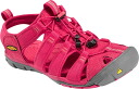 Keen Womens ladies Clearwater CNX Sandals 2015 NEW COLOR Keen Womens CLEARWATER CNX BARBERRY and HOT CORAL thin bottom specifications hybrid sandal