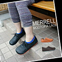 Point 10 times Merrell Mootopia Lace Womens 3Colors Bronte, Black and Light Brown Merrell ムートピア race women's and women's outdoor sneaker color development