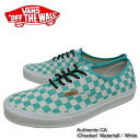 Vans sneakers /Vans sneakers authentic CA waterfall / white canvas Authentic CA (Checker) Waterfall / White