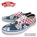 Vans sneakers Ella Vandoren アロハチェッカー canvas Vans sneakers ERA (VAN DOREN) ALOHA / CHECKER