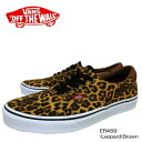 Vans sneakers Ella 59 Leopard Brown canvas Vans sneakers ERA 59 LEOPARD BROWN