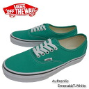 Vans sneakers authentic Melard / white canvas Vans sneakers AUTHENTIC EMERALD and T.WHITE