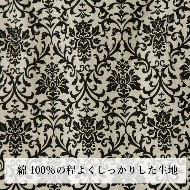 告诉漂亮花纹图案的围裙 / 100%棉 / 激怒 / 时尚 / 可爱 / 颈 / 绫