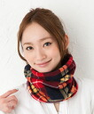 Warm wide neck warmer [man and woman combined use] Neck warmer] 2410