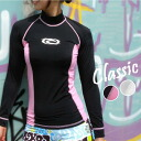 AROPEC / アロペック retro rash guards DX ladies-long sleeve