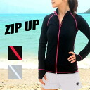 AROPEC / アロペック ZIP classic rash guard ladies