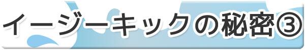 【フィン】イージーキックの秘密3