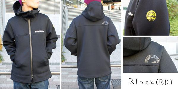 【マウンテンパーカー】ブラック