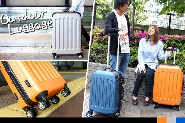 【キャリーケース・スーツケース】アウトドアラゲージキャリーバッグ2