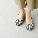 "■ fs/ny (エフエススラッシュエヌワイ) ballet shoes ""sloop"" ZEBRA SUEDE / standard products"