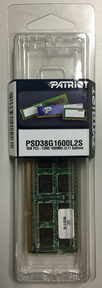PSD38G1600L2S [SODIMM DDR3 PC3-12800 8GB]