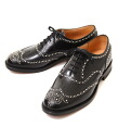 CHURCH (Church) BURWOODS/81 F (leather studs wing tip casual shoes) BURWOODS-81F