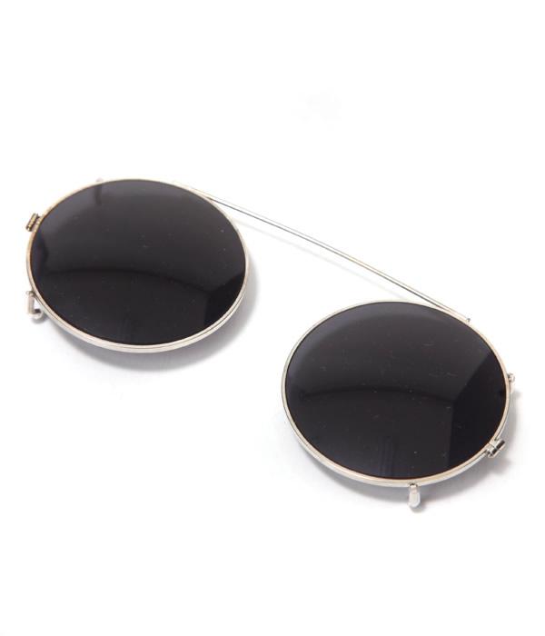 Round Clip on (eyeglasses