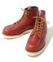 CLASSIC MOC STYLE NO.8875( boots RED WING (Redwing) )