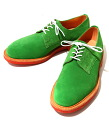 MARK MCNAIRY (マークマクナイリー) Plain Derby Shoe (Kelly Green Suede)-green (planet shoes casual shoes) fs3gm